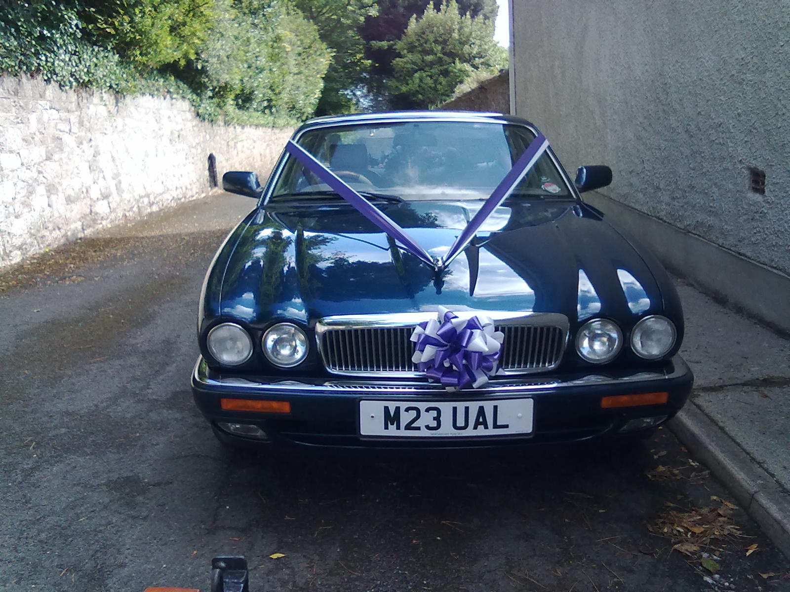 Hubby's beloved old Jag